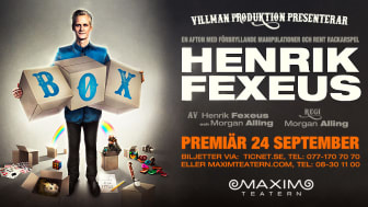 "Henrik Fexeus ""BOX"" promobild"