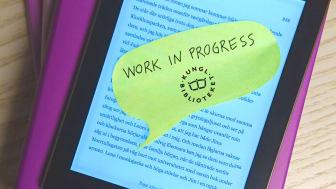 Användarnas behov i fokus för KB:s e-boksprojekt