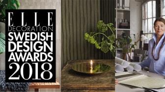 Engblad & Co – Vinnare av Årets Tapet för Ilse Crawfords kollektion Atmospheres i ELLE Decoration Swedish Design Awards 2018