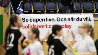 SolidSport livesände drygt 7000 matcher på tolv dagar från de stora cuperna runt om i Sverige.