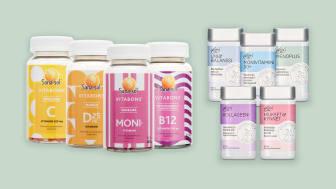 Sana-sol tuo markkinoille pehmeät ja pureskeltavat Vitabons-vitamiinit aikuisille