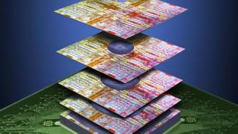IBM og 3M utvikler nytt materiale for å bygge chip-tårn