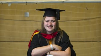 Football ace Alice Harkness scores first class degree from Northumbria University