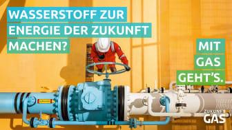 Wasserstoff zur Energie der Zukunft machen? Mit Gas geht's!