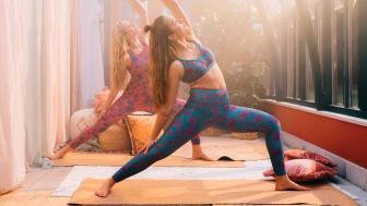 The yoga collection, Indiska x Röhnisch
