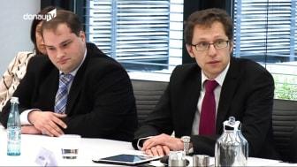 Donau TV - Nachrichtenbeitrag zur Pressekonferenz Breitband-Initiative am 12.02.2015