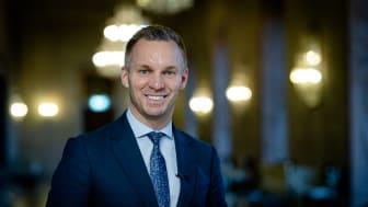 Stockholms stads trygghetsborgarråd Erik Slottner (KD)