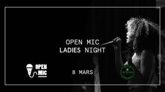 Tap Room Kungsholmen öppnar sin scen för endast kvinnor på internationella kvinnodagen!