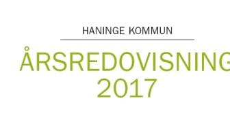 Årsredovisningen för Haninge kommun 2017 visar på tillväxt och stabilt ekonomiskt överskott