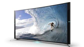 Новый 4K-телевизор BRAVIA серии S9 с изогнутым экраном