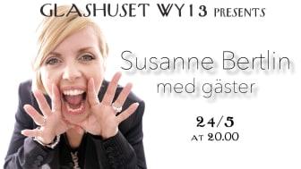 Susanne Bertlin med gäster