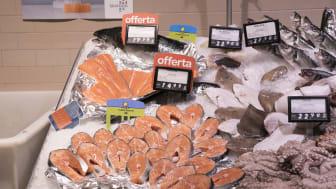 Da restaurantene stengte i Spania tok spanjolene med seg den norske laksen hjem.