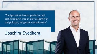 Joachim Svedberg, Acting Head of Capital Markets på Colliers.