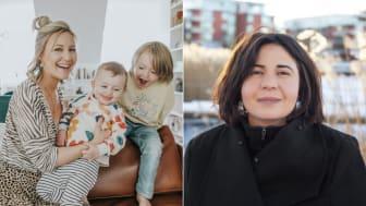 Motherhood växer med Vanja Wikström och Sarah Delshad