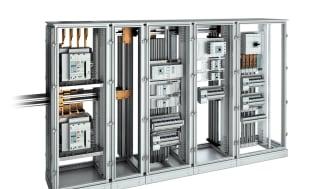 Bticino MAS4000 ställverk med Bticino lågspänningsprodukter
