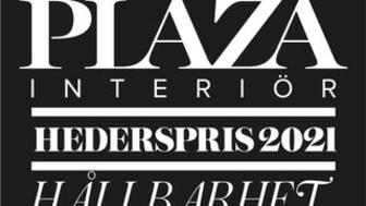 """Alcro tilldelas Plaza Interiörs Hederspris 2021, inom kategorin """"Nyans""""."""
