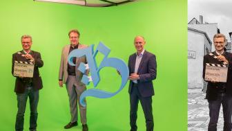 Bavariathek_Eröffnung_Greenscreen