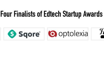 Fyra finalister i EdTech Startup Awards