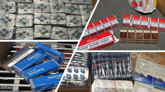 Tobacco and pill dealing pensioner back behind bars