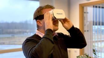 Vilokan ADF SOlutions bjuder in med hjälp mav VR.