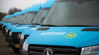 PostNord sender 25 nye elektriske pakkebiler på vejene op til jul