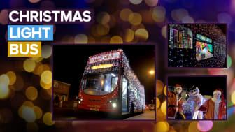 Oxford Bus Company Christmas Lights Bus