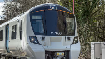 Class 717s are more energy efficient than previous generations of trains.