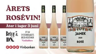 Årets rosévin tillfälligt slut - åter i lager 3 juni