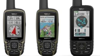 Nouveaux Garmin GPSMAP 66sr et 65 Series