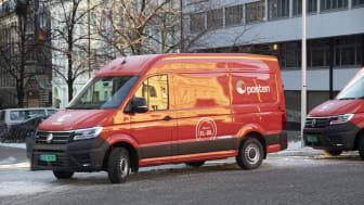 Posten havner høyt i kåring av bærekraftige merkevarer i Norge. Elektriske varebiler er et av mange bidrag til det..
