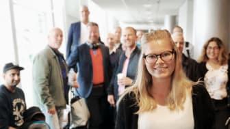 Johanna Johansson, vd på PlantVation, ser fram emot nya möten med potentiella kunder och partners i Kanada.