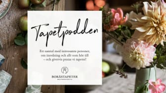 """Boråstapeter lanserar podcasten """"Tapetpodden"""""""