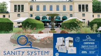 Rånäs Slott startar samarbete med Sanity Systems.