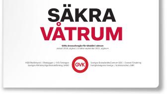 GVK ser till att du får relevant, aktuell vidareutbildning för våtrumsinstallationer