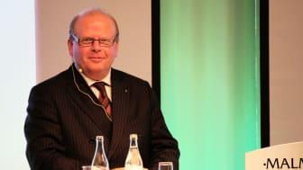 Landsbygdsminister Eskil Erlandsson talade på Livsmedelsakademins dag