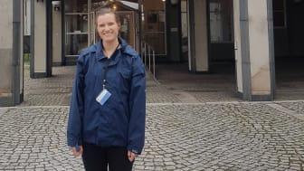 Ida Johansson började jobba på Länsstyrelsen i Mariestad i början av juni.