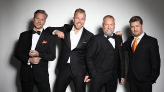 """Premiärkväll för Arvingarnas jubileumsshow """"I takt med tiden"""" på Kajskjul 8 i Göteborg!"""