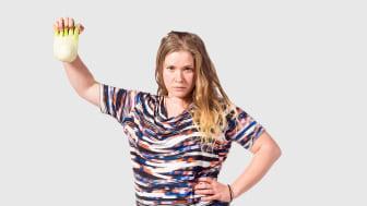 Corina, grundare av FörSvinn. Foto: Johanna Herbst