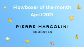 Flowboxer of the month – April 2021: Pierre Marcolini