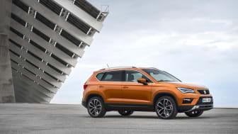 Fem stjerner fra Euro NCAP til SEAT Ateca, som introduceres til september