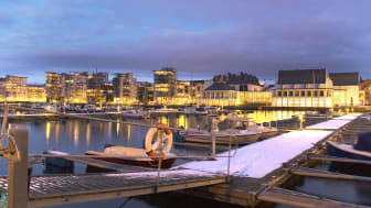 Stadsnätet i Helsingborg i Skåne-toppen