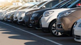 Försäljningen av begagnade bilar fortsatte öka under andra kvartalet 2021