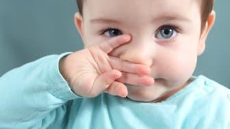 Es dauert rund ein Jahr, bis die Sehfähigkeit von Babys ungefähr jener von Erwachsenen entspricht.