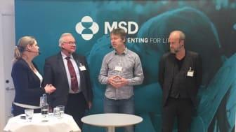 Mare Ohrlander, Stephan Stenmark,  Lars-Håkan Nilsson samt Joakim Söderberg