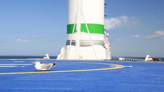 Seagull rotor sail