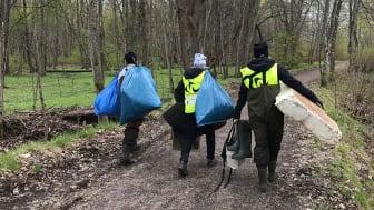 Gästrike återvinnares miljöpedagoger blir Kusträddare för en dag