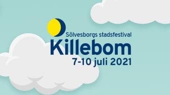 Sölvesborgs stadsfestival Killebom 2020 ställs in