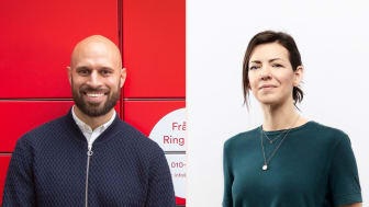 Alexis Priftis, co-founder and CEO of Instabox and Ashley Lundström, EQT Ventures