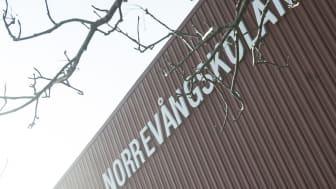 Norrevångskolans digitala samarbetsprojekt visas upp
