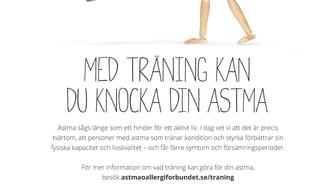 Astma och träning - en bra kombo